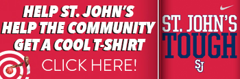 St. John's Tough Supporting Local Food Pantries cool t-shirt