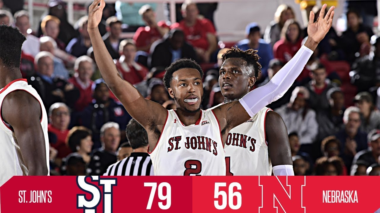 Highlights: St. John's 79, Nebraska 56