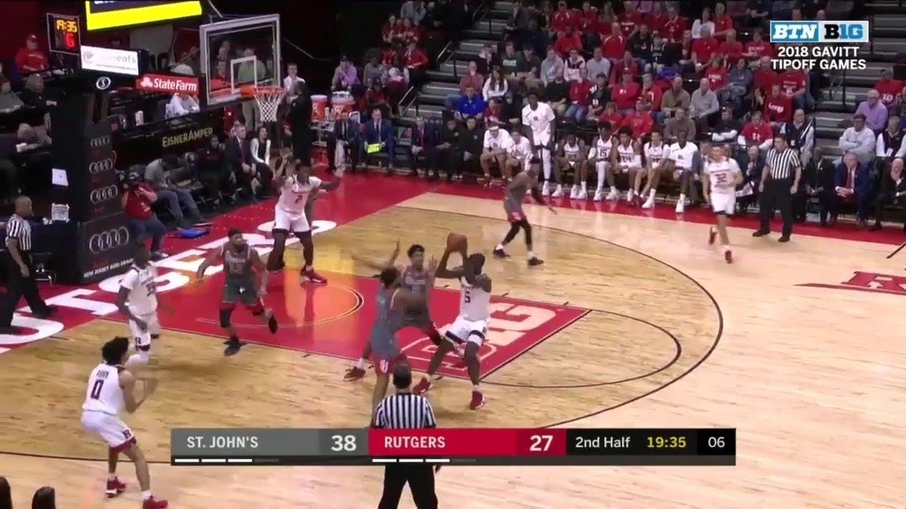 Highlights: St. John's at Rutgers