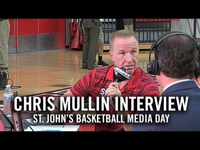Chris Mullin Interview: St. John's Basketball Media Day