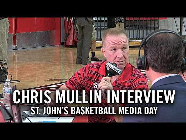 Chris Mullin Interview: St. John's Basketball Media Day